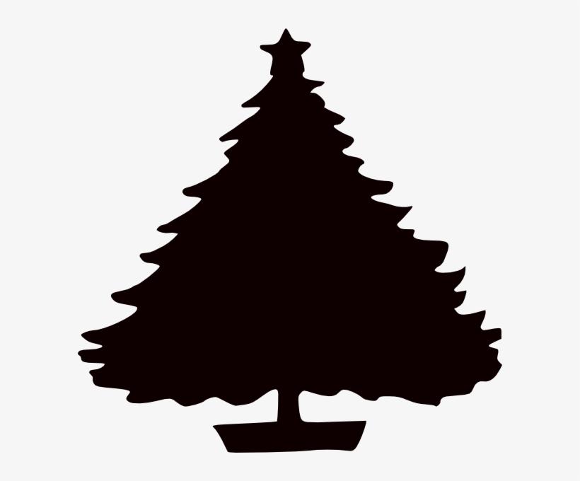 Charlie Brown Christmas Tree Silhouette.Black Christmas Tree Silhouette Clip Art At Clker Com