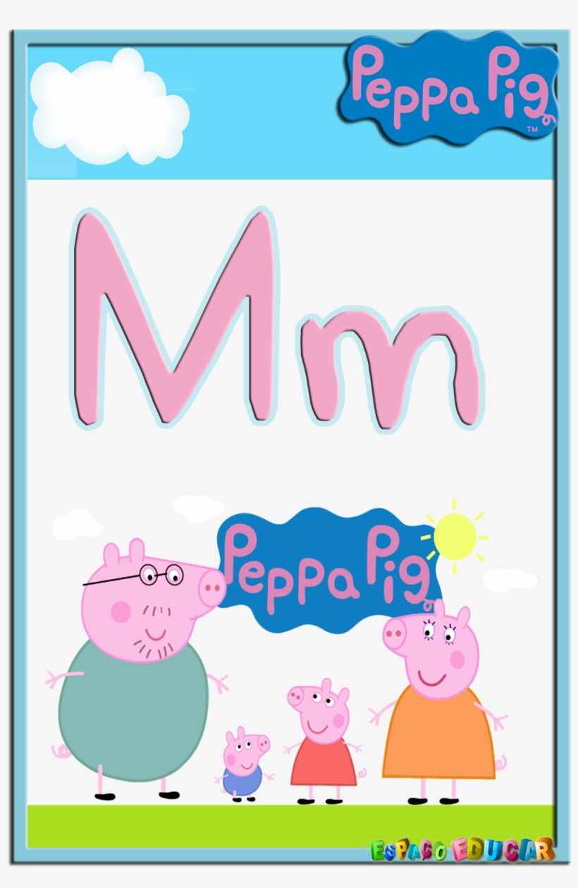 Alfabeto De Peppa Pig Y Su Familia Peppa Pig Family Gif Png