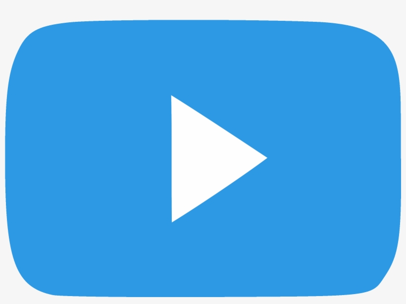 Youtube Play Button Png File Youtube Blue Play Button Png Image Transparent Png Free Download On Seekpng