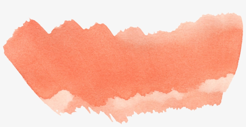 Image Free Library Orange Watercolor Brush Stroke Png Watercolor Painting Png Image Transparent Png Free Download On Seekpng