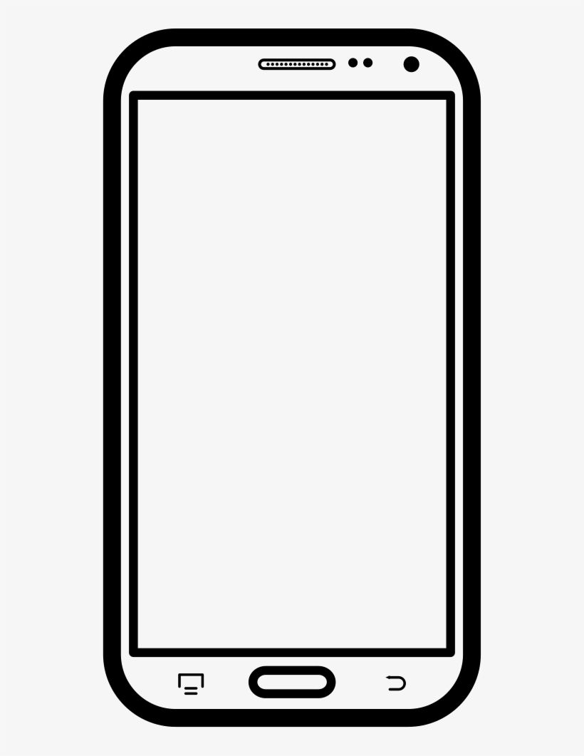 Mobile Phone Comments - Mobile Frame Png Download PNG Image