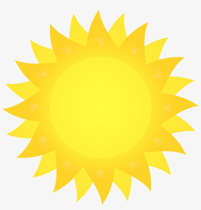 picture relating to Printable Picture of the Sun titled Inspirational Clipart Corner Sunshine - Very first Working day Of 5th Quality