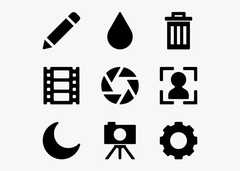 Camera Icons - Transport Icons Google Maps PNG Image