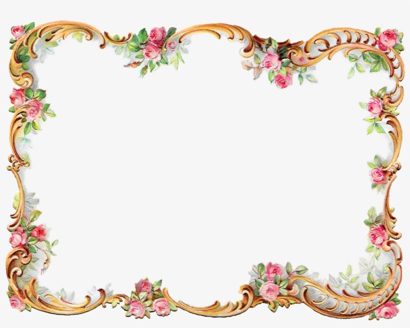 Floral Frame Border Png