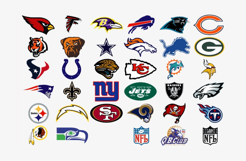 Nfl Teams Logos Png Image Library Stock - List Of All The Nfl Teams PNG Image | Transparent PNG ...