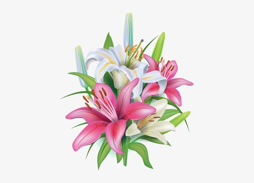 Fleurs Flores Flowers Bloemen Png Kwiaty Transparent Bansuansukdee