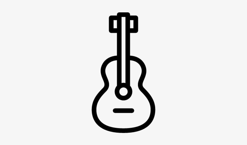 Spanish Guitar Vector - Guitar Png Logo@seekpng.com