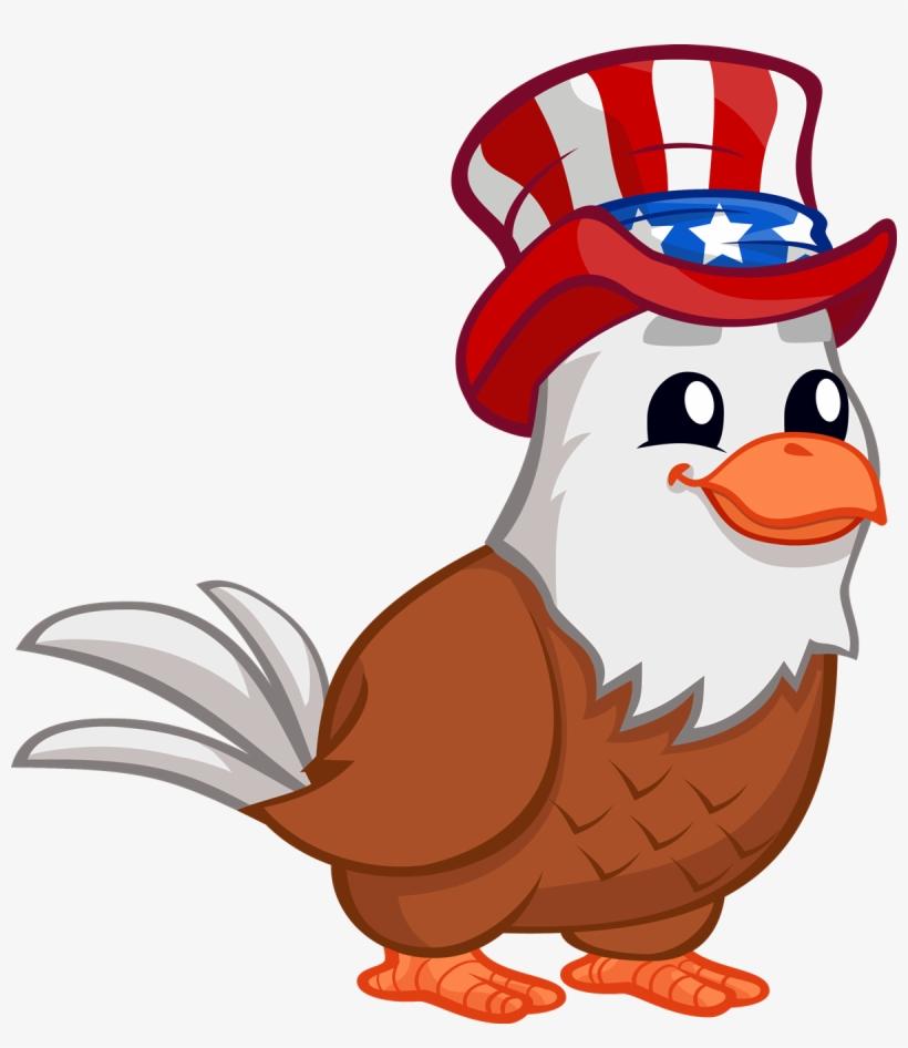 28 Collection Of Patriotic Eagle Clipart - Cute Patriotic ...