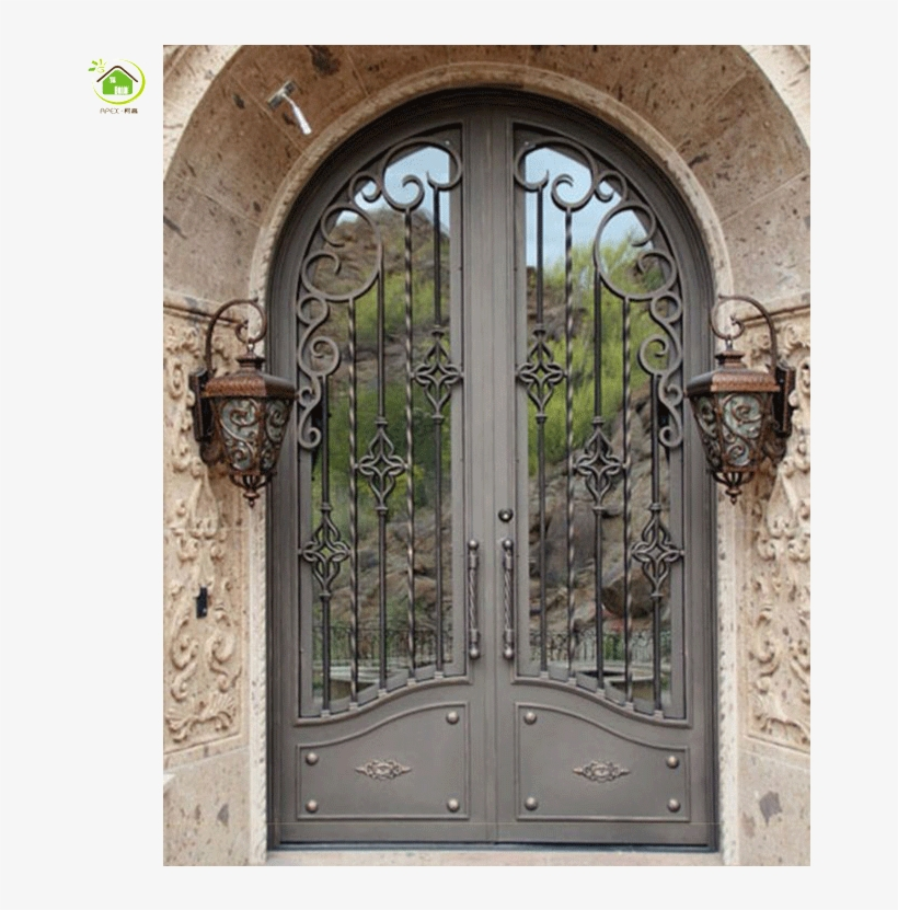 Design Double Door Entrance Main Gates