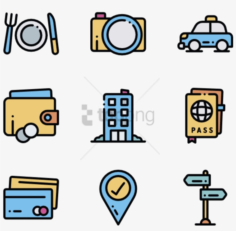 Free Png Travel 50 Icons Pack Icons Travel Png Image Transparent Png Free Download On Seekpng