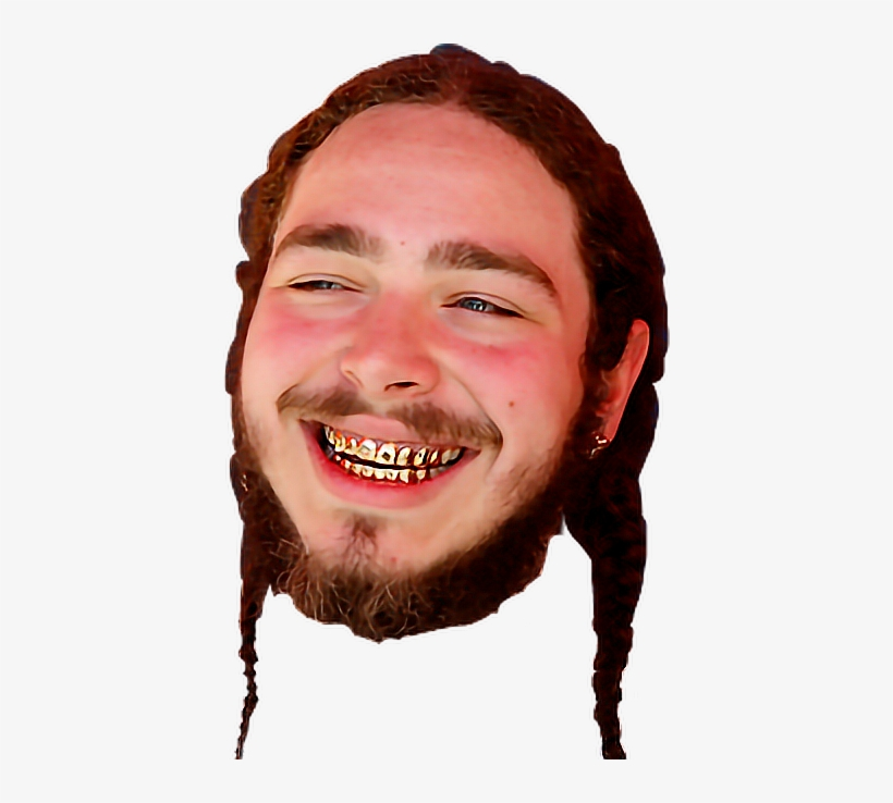 Post Malone Clean: Post Malone Halloween Costume PNG Image