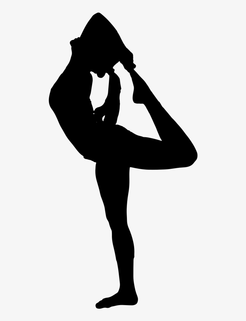 Female Yoga Pose Silhouette Yoga Pose Png Png Image Transparent Png Free Download On Seekpng