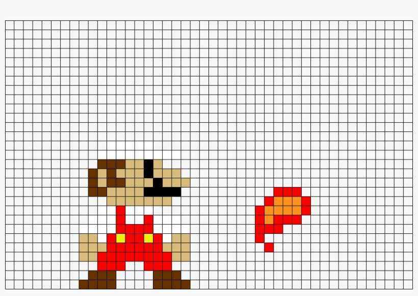 Mario Pixel Art Templates Png Image Transparent Png Free Download On Seekpng