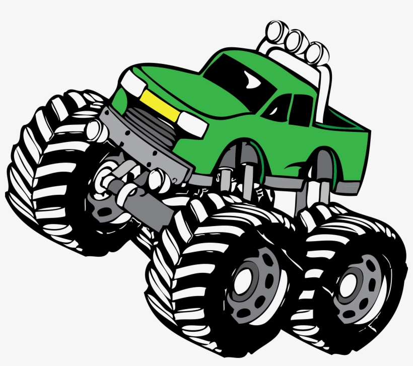 Monster Truck Clip Art Monster Truck Png Image Transparent Png Free Download On Seekpng