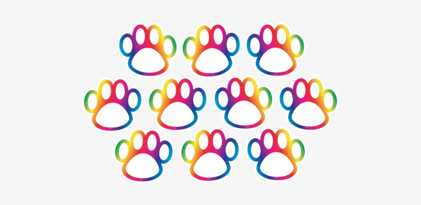 Rainbow Paw Prints Accents Teacher Created Resources Rainbow Paw Prints Mini Accents Png Image Transparent Png Free Download On Seekpng Pngtree offers over 200 paw png and vector images, as well as transparant background paw clipart. seekpng