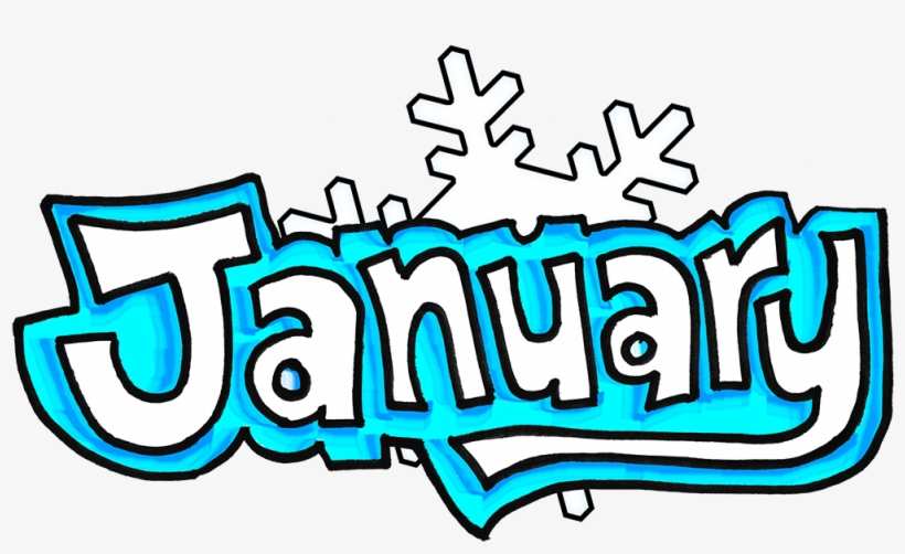 January Word Transparent@seekpng.com