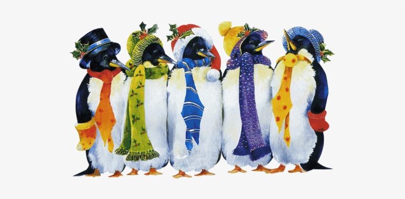 Christmas Penguins Guten Morgen Samstag Lustig Png Image
