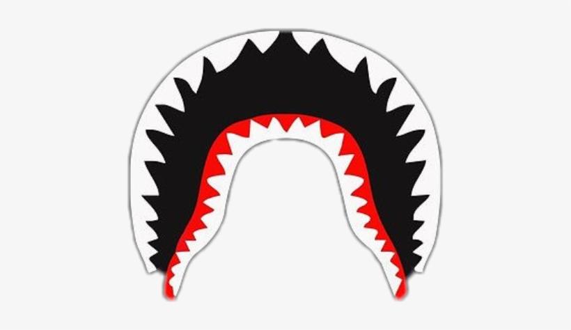 f3bfc629 Bape Mouth Png - Bape Shark White Logo PNG Image | Transparent PNG ...
