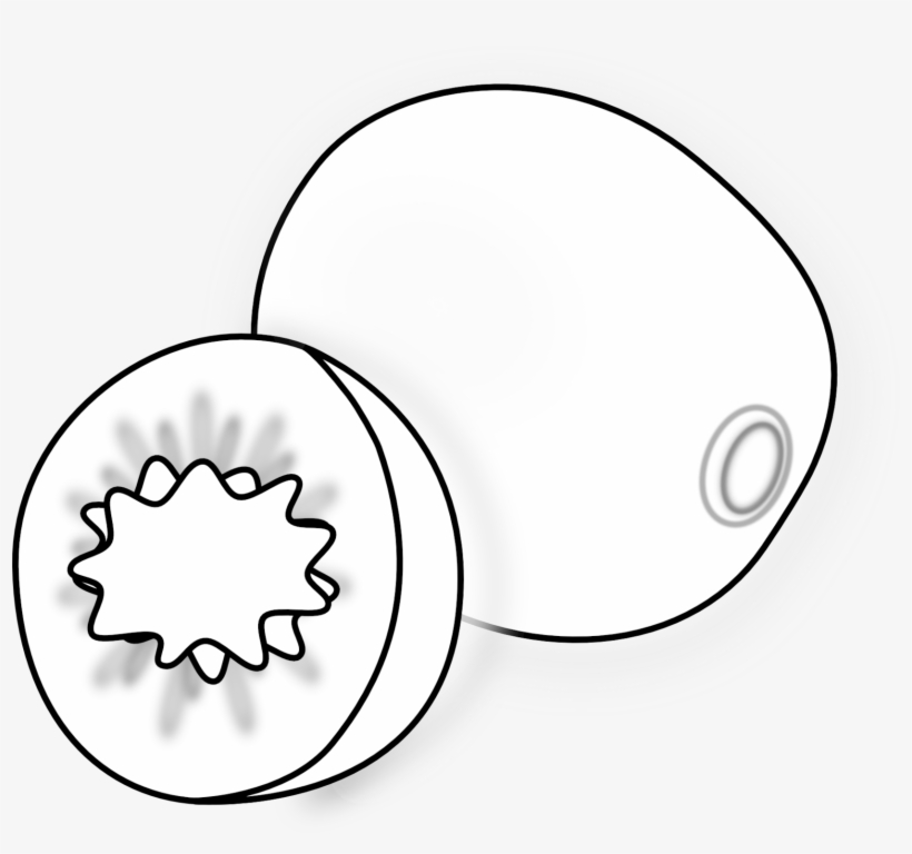 Clip Arts Related To - Small Fruit Clipart Black And White