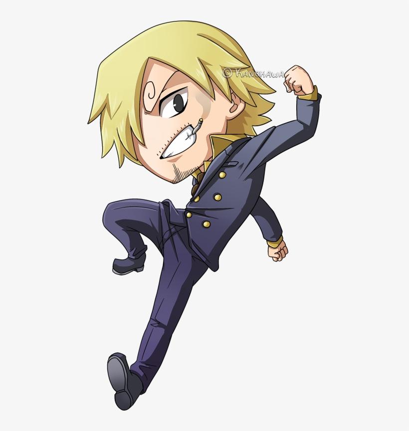 One Piece Sanji Chibi By Kanokawa D64mcho Anime Chibi One Piece Png Image Transparent Png Free Download On Seekpng