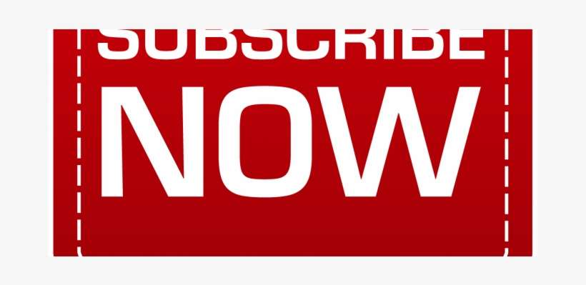 Subscribe To Our Youtube Channel - Sign PNG Image | Transparent PNG