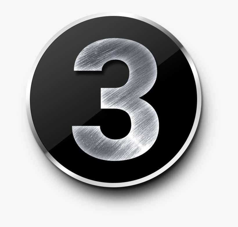 Number 3 Png - Metal Number 2 Png PNG Image   Transparent PNG Free Download  on SeekPNG