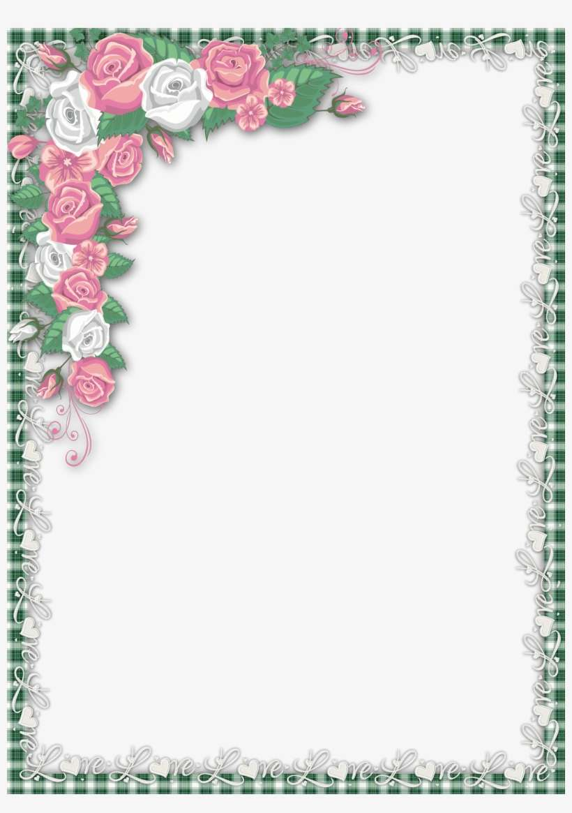 Beautiful Frames For Writing Png Image Transparent Png