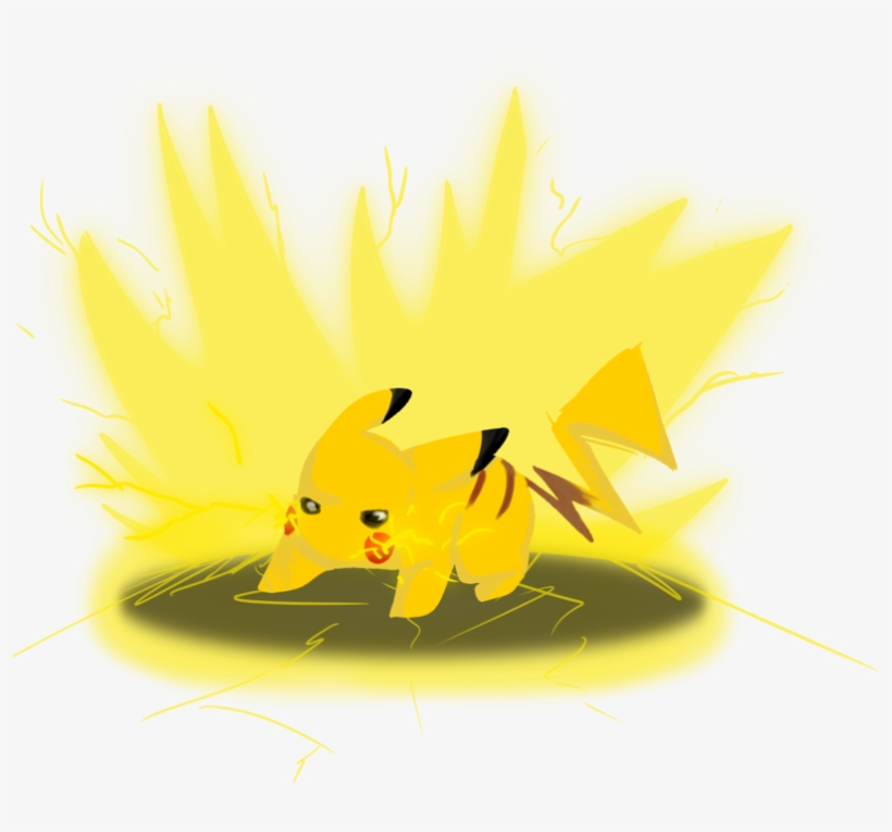 Pikachu Used Thundershock By Qreenie On Deviantart ...