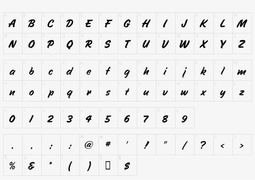 Character Map - Katakana Font PNG Image | Transparent PNG