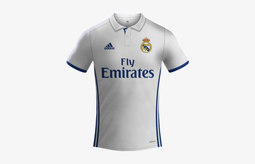 bc39615739b Real Madrid Adidas 2016/2017 - Real Madrid Jersey 2019, transparent png  download