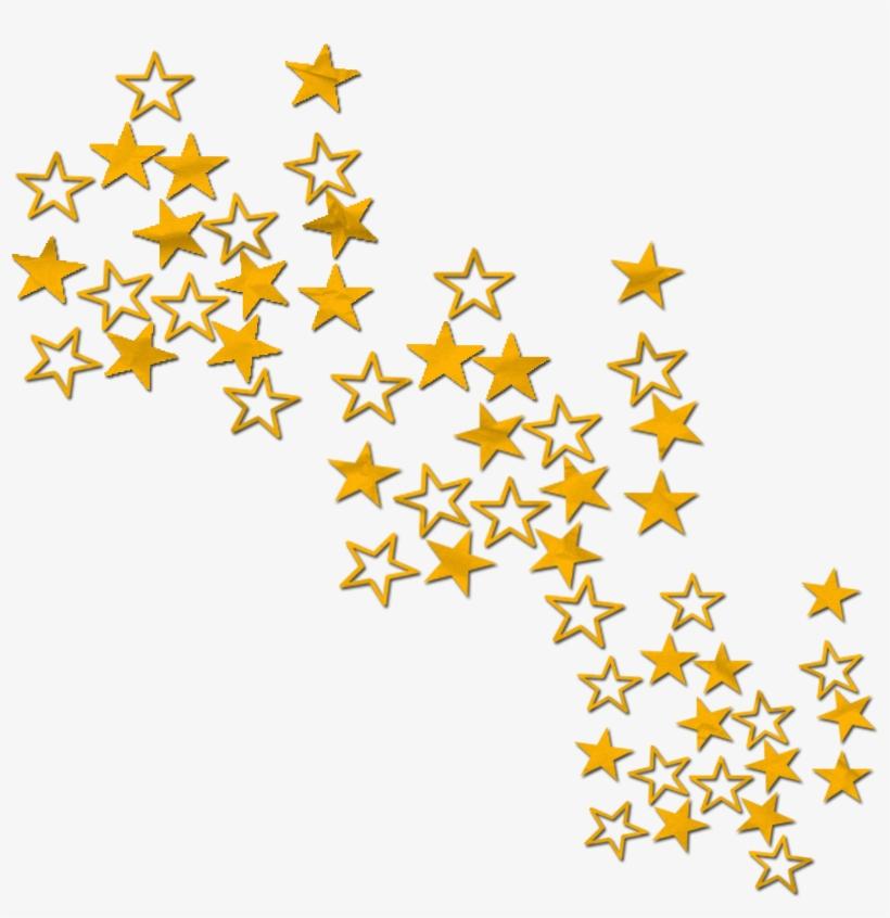 Confetti stars. Clipart star xmas png