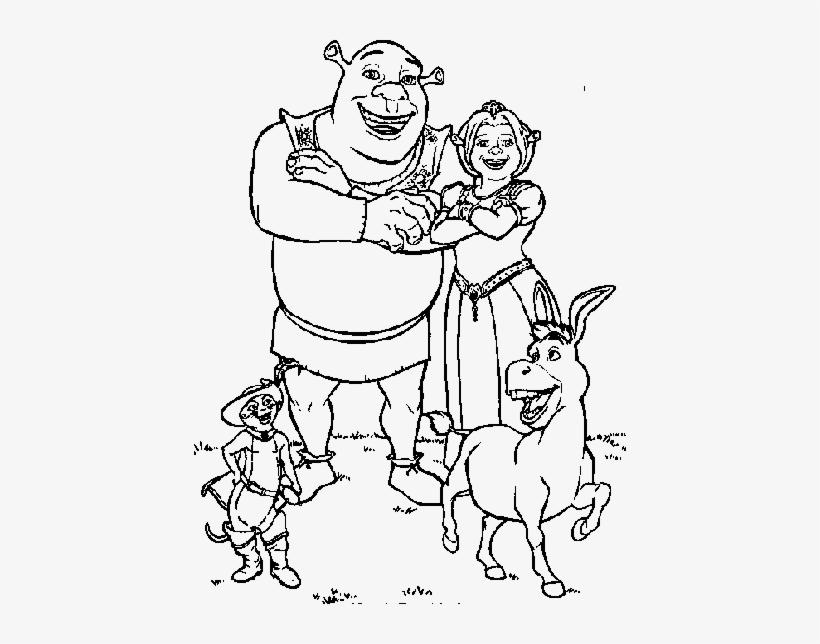 Drawing Shrek 157 Desenhos Para Colorir Shrek Png Image