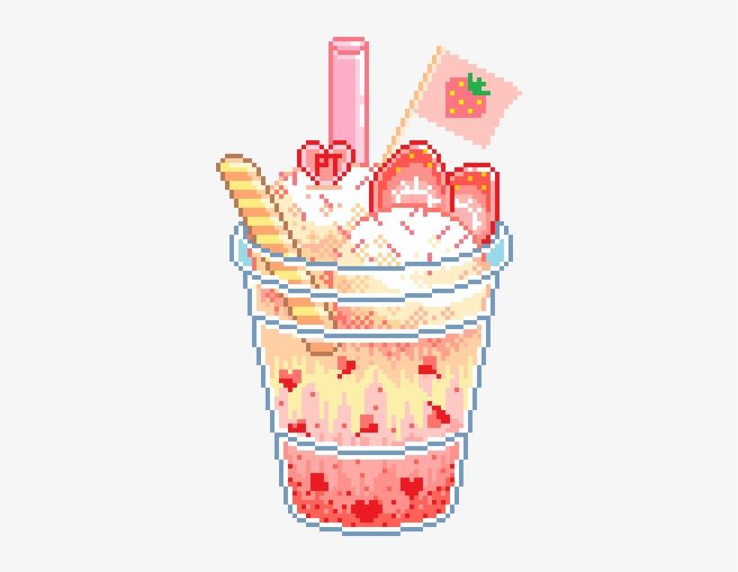 Soda Clipart Pixel Art Kawaii Pixel Food Transparent Png
