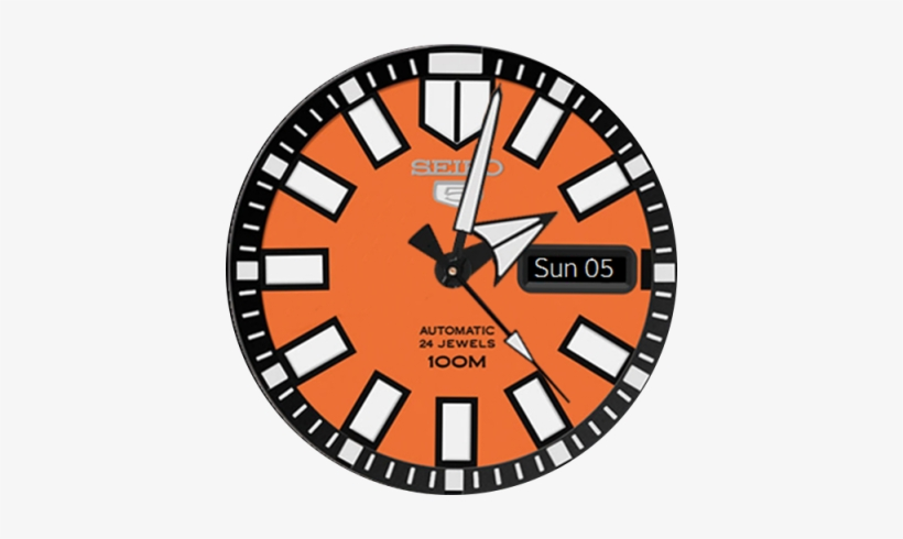 Jpg Free See Clipart Watch Face Seiko 5 Sports Silver Watch Srp483k1 Png Image Transparent Png Free Download On Seekpng