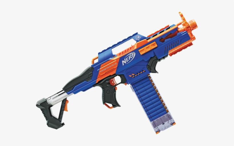 Nerf N Strike Elite Rapidstrike Cs 18 Blaster Nerf N Strike Elite Rapid Fire Png Image Transparent Png Free Download On Seekpng