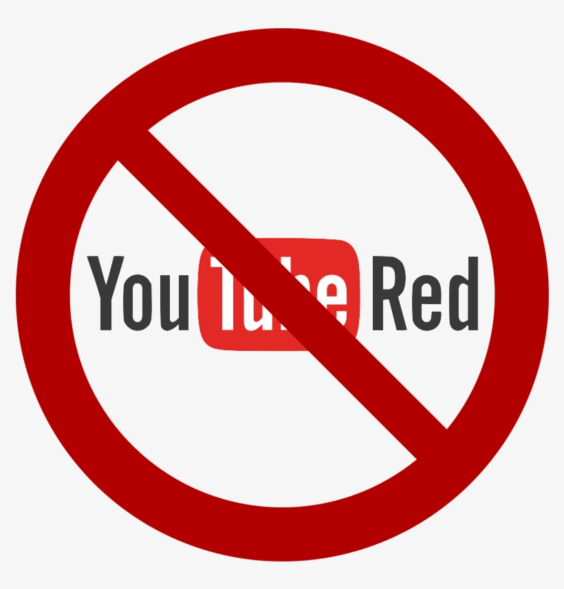 Crossed Out Youtube Red Logo - Limite Velocità PNG Image