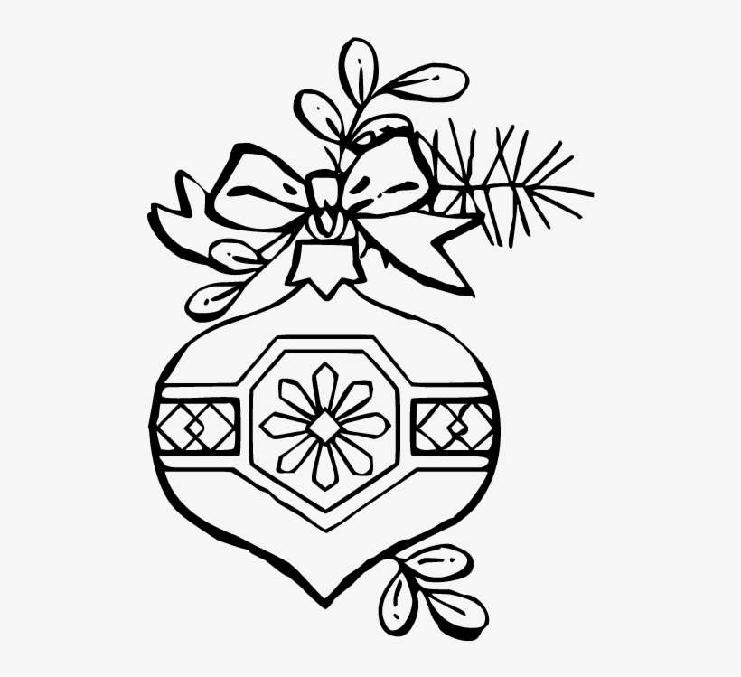 Ornament Coloring Page - Christmas | Printable christmas coloring ... | 749x820