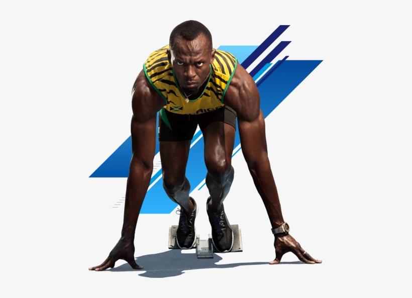 Usain Bolt Png Image Transparent Png Free Download On Seekpng