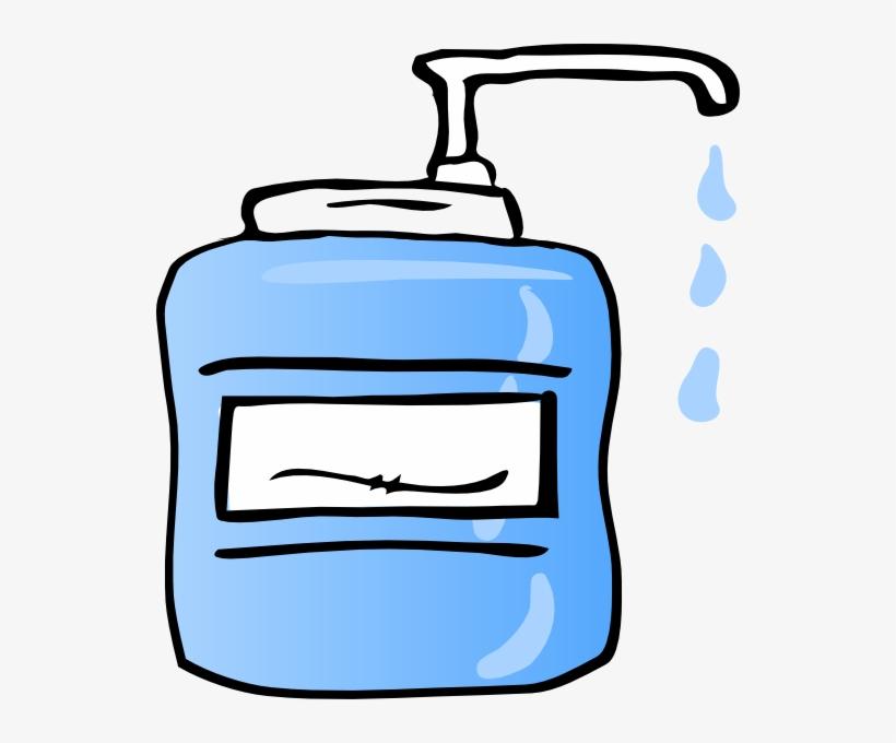 Cartoon Hand Sanitizer Clipart - Hand Sanitizer Clipart@seekpng.com