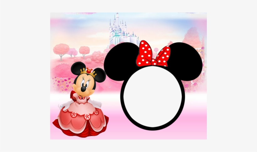 Minnie Mouse 1st Birthday Invitation - 1st Birthday Minnie Mouse Background, transparent png download
