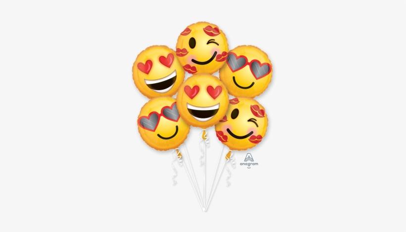 Emoji Love Bouquet Emoji Love Bouquet - Love Emoji PNG Image