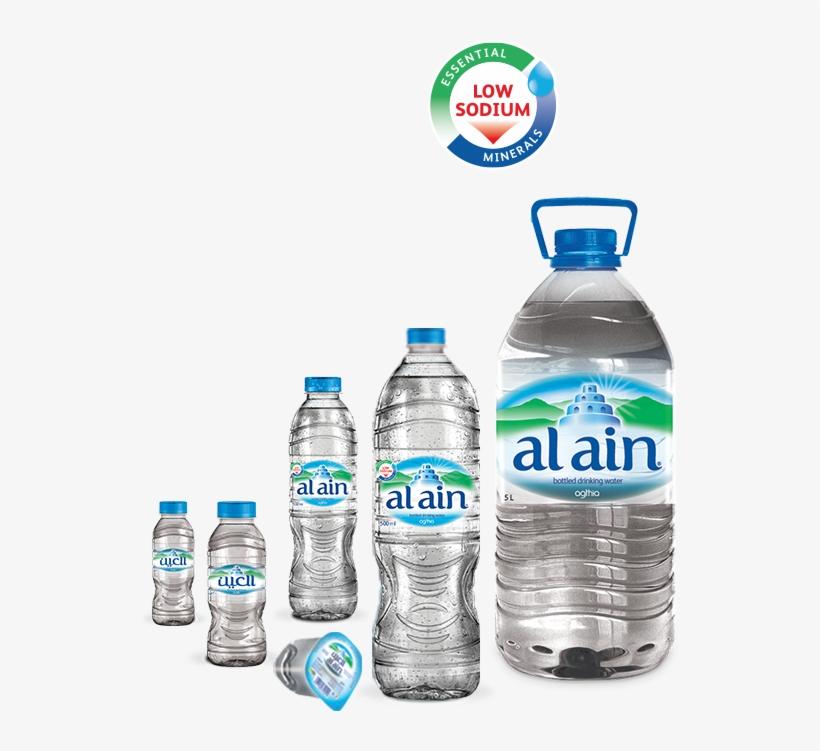 Al Ain Water Bottles - مياه العين PNG Image   Transparent ...