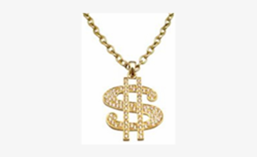 Gold Chain Dollar Sign Png Image Free - Golden Dollar Chain