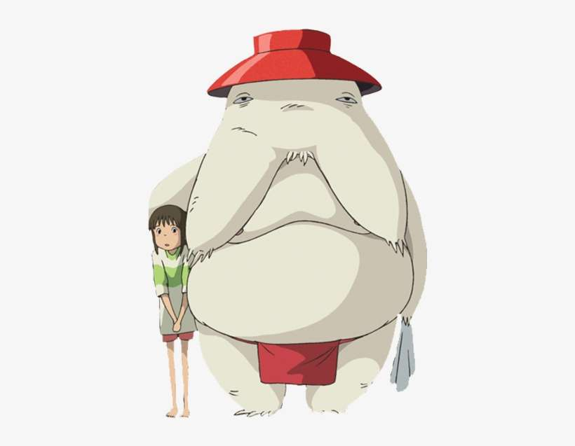 Chihiro Crosses The River And Reunites With Her Restored Spirited Away Radish Spirit Png Image Transparent Png Free Download On Seekpng