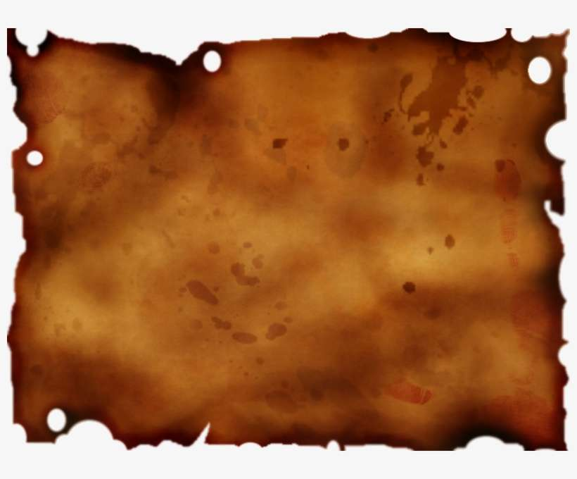 Ripped paper parchment. Torn png banner download