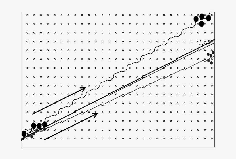 Particle Trajectories For A Mixture Of Particles Of - Particle PNG