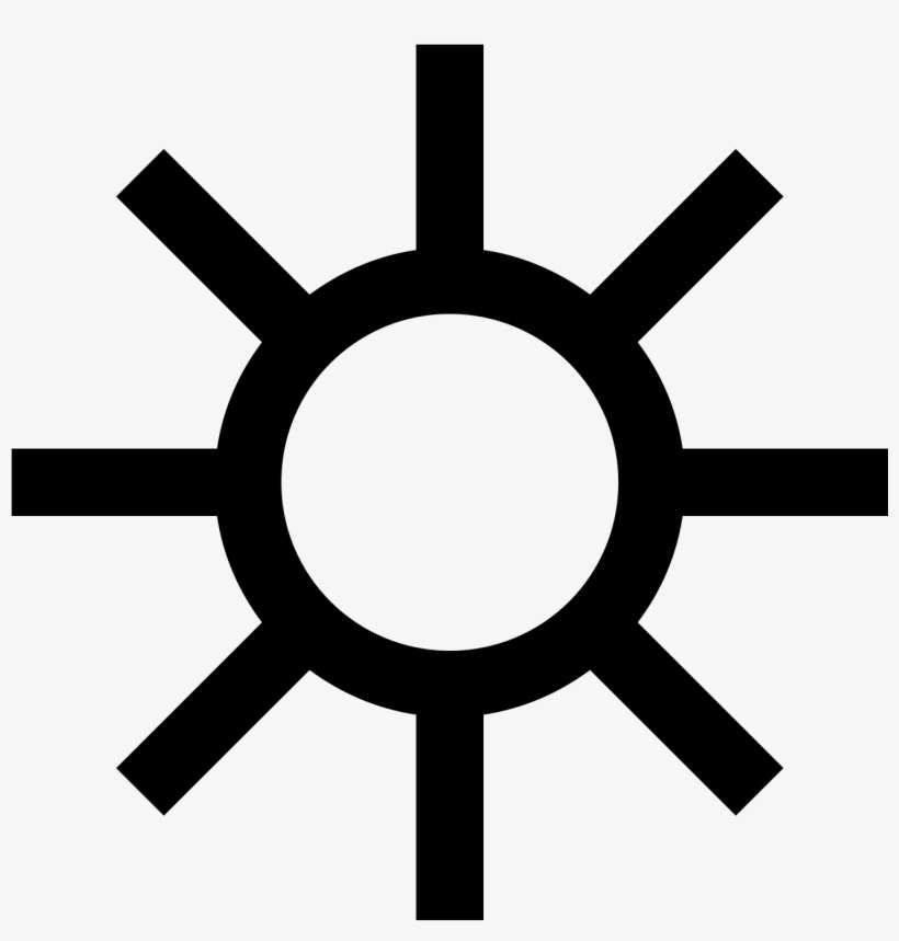 Free Download At Icons8 - Sun Icon, transparent png download