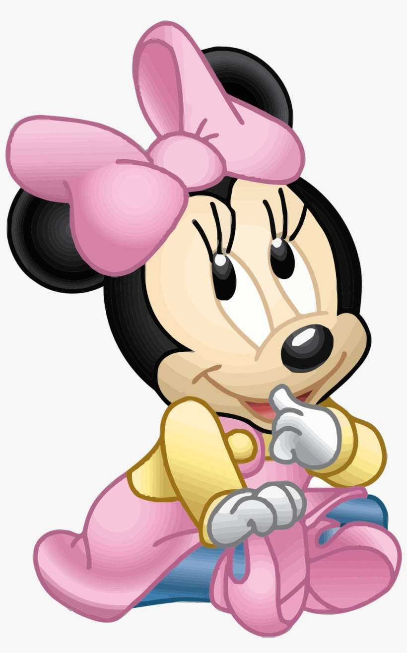 Baby Minnie Mouse Images Baby Minnie Mouse Png Png Image