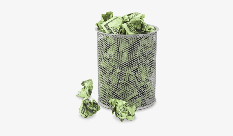 Trash Can Full Of Crumpled Dollars Trash Can Money Png Png Image Transparent Png Free Download On Seekpng Trash can png & psd images with full transparency. trash can full of crumpled dollars