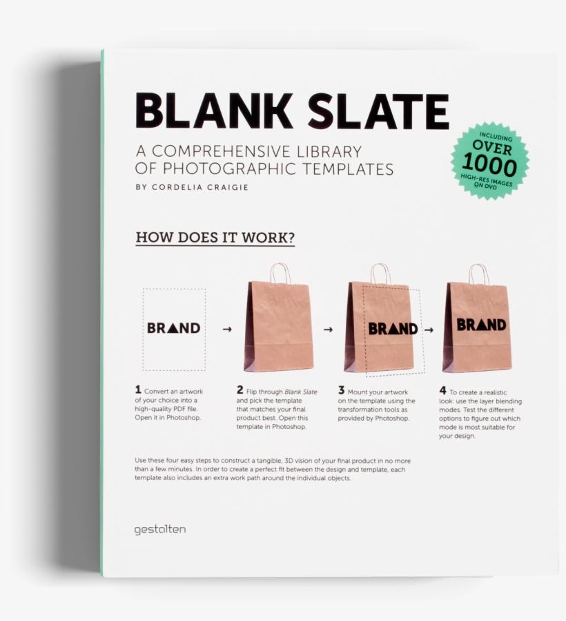 Blank Slate Gestalten Book Templates Logo Branding Blank